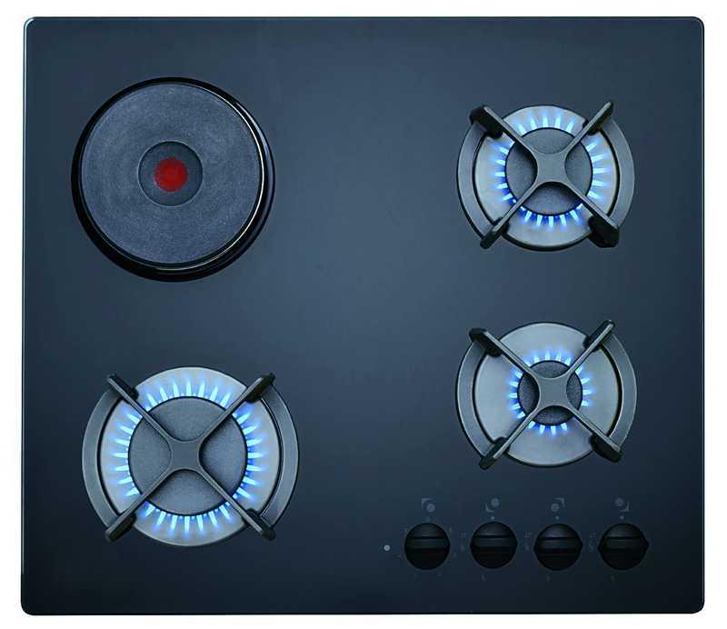 Teka HF LUX 60 3G 1P AI AL CI 1 G�z Elektrikli Siyah Cam Ankastre Ocak