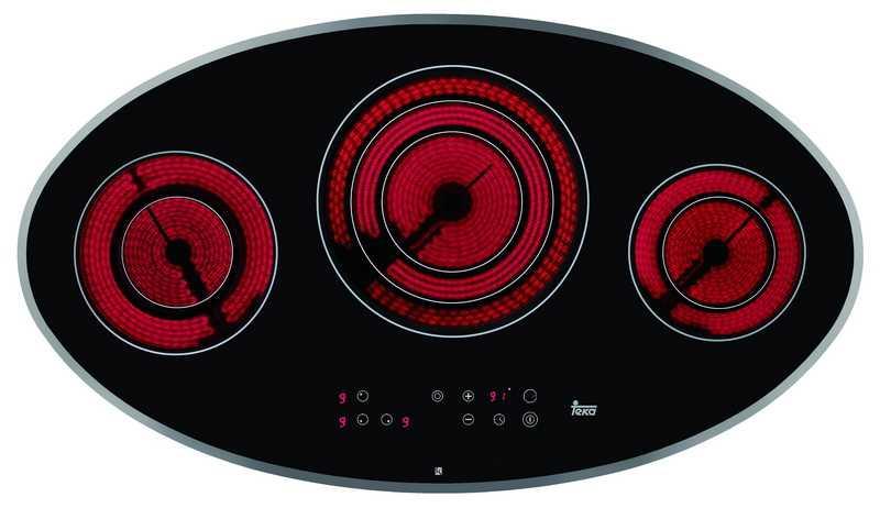 Teka TR 95 DX Ankastre Elektrikli Cam Seramik Ocak