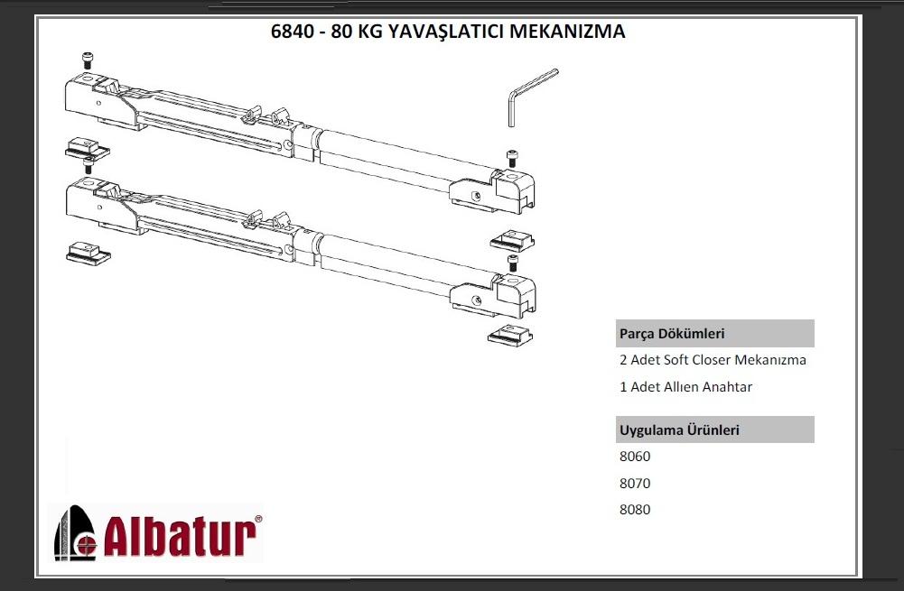 ALB 6840 80 KG YAVA�LATICI S�STEM