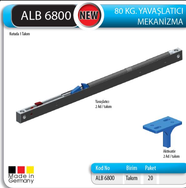 ALB 6800 80 KG YAVA�LATICI MEKAN�ZMA