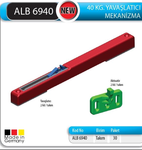 ALB 6940 40 KG YAVA�LATICI MEKAN�ZMA