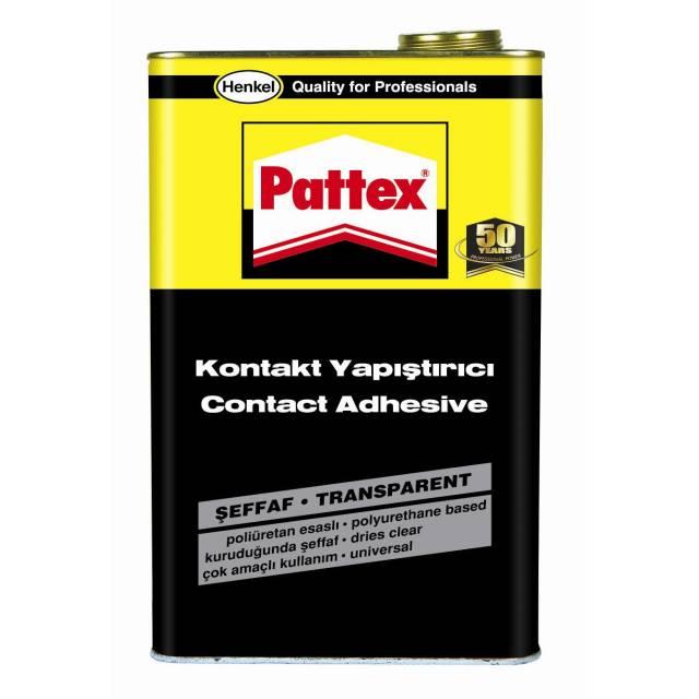 Pattex Şeffaf Kontakt Yapıştırıcı 3Kg Galon