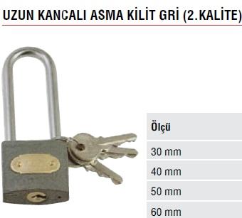 UZUN KANCALI ASMA K�L�T GR� 2.KAL�TE