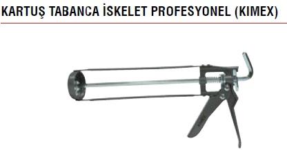 KARTUŞ TABANCA İSKELET PROFESYONEL (KIMEX)