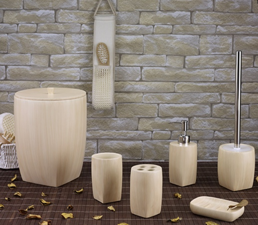 WOOD LİGHT BANYO SETİ