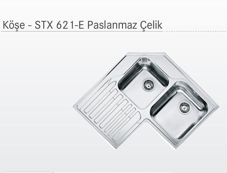 FRANKE PASLANMAZ KÖŞE EVYE STX 621-E SOL101.0001.044
