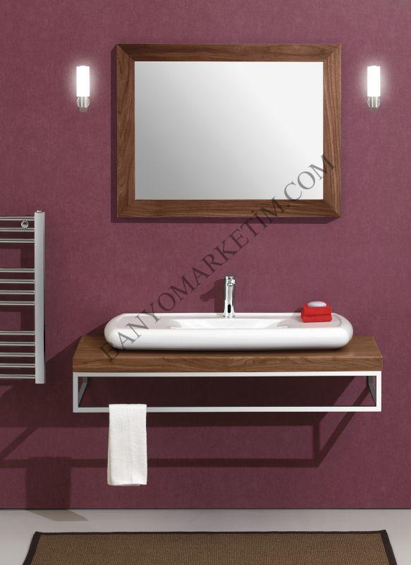 Sardes 120 Banyo Dolabı